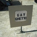 Gay Ghetto at Burning Man 3:00 and A, B